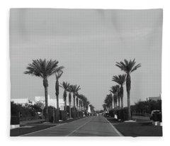 Alys Beach Entrance Fleece Blanket