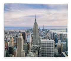 Amazing Manhattan Fleece Blanket