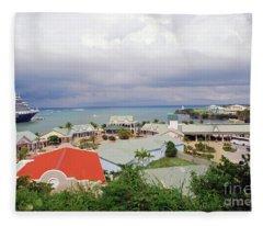 Amber Cove Fleece Blanket