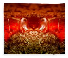 Amber Nightmare Fleece Blanket