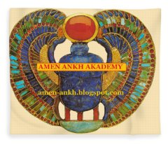 Amen Ankh Akademy Fleece Blanket