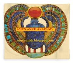 Amen Ankh Akademy Fleece Blanket