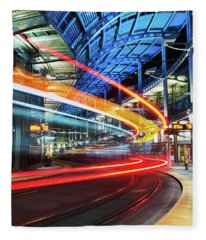 America Plaza Station Fleece Blanket