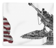 American Artillery Fleece Blanket