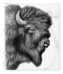 Bison Fleece Blankets
