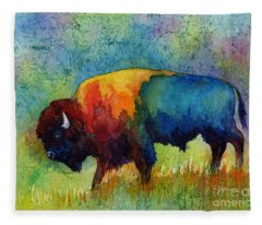 American Buffalo IIi Fleece Blanket