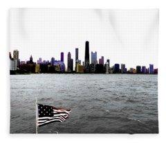 American Chi 3 Fleece Blanket