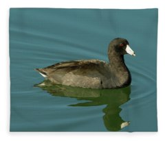 American Coot Fleece Blanket