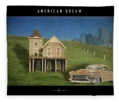 American Dream Fleece Blanket