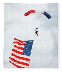 American Flyer Fleece Blanket