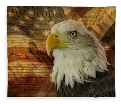 American Icons Fleece Blanket
