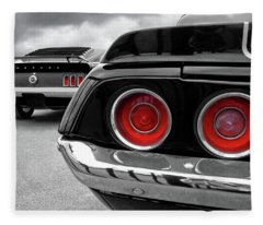 American Muscle Fleece Blanket