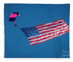 American Parachute Fleece Blanket