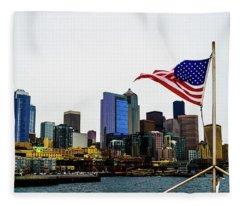 American Seattle Ic Fleece Blanket