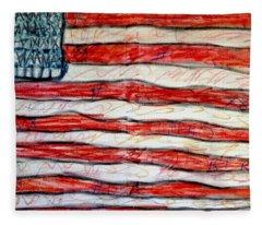 American Social Fleece Blanket