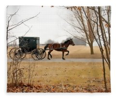 Amish Dream 1 Fleece Blanket
