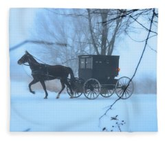 Amish Dreamscape Fleece Blanket