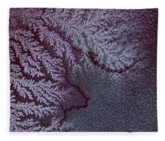 Ammonium Chloride Crystal Fleece Blanket