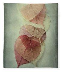 Among Shades Fleece Blanket