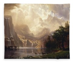 Among The Sierra Nevada Fleece Blanket