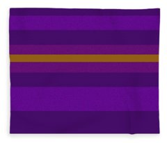 Amore Purple Fleece Blanket