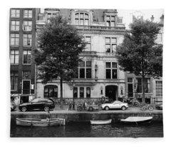 Amsterdam Mansions Fleece Blanket