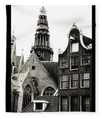 Amsterdam Posters. Old Amsterdam Fleece Blanket