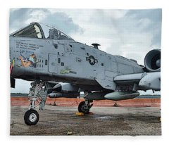 Amy's Jet 6800 Fleece Blanket