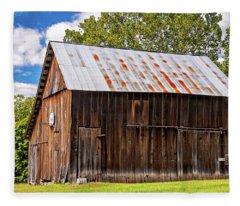An American Barn 2 Fleece Blanket