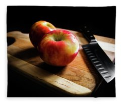 An Apple Or Two Fleece Blanket