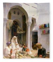 An Arab Weaver Fleece Blanket