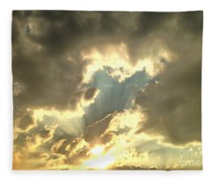 Vision Of Love Fleece Blanket
