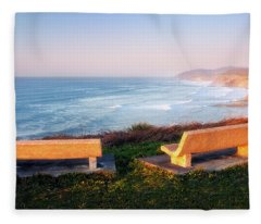 An Outstanding View Fleece Blanket