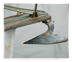 Sailboat Anchor Fleece Blanket