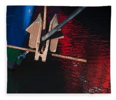 Anchor Fleece Blanket