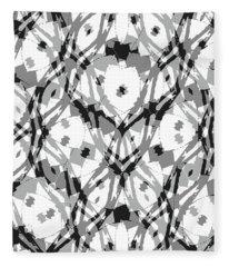 Ancient Carving-2  Fleece Blanket