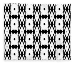 Ancient Carving Vertical Fleece Blanket