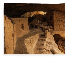 Ancient Gila Fleece Blanket