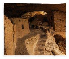 Ancient Gila Fleece Blanket