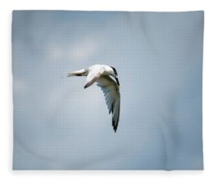 And Still The World Terns Fleece Blanket