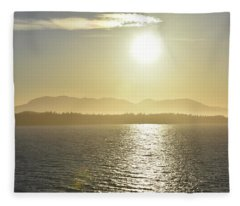 And The Sun Goes Down Fleece Blanket