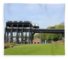 Anderton Boat Lift Fleece Blanket