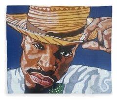 Andre Benjamin Fleece Blanket