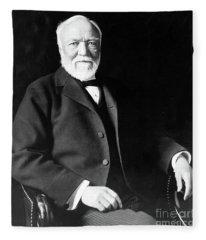 Andrew Carnegie Fleece Blanket
