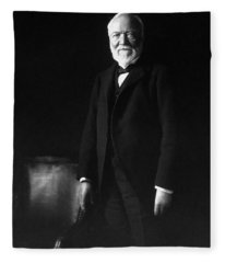 Andrew Carnegie Fleece Blanket