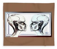 Androids  Talking Fleece Blanket