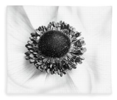 Anemone Bloom Fleece Blanket