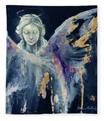Angel 1 Fleece Blanket