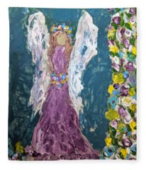 Angel Diva Fleece Blanket
