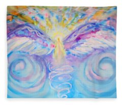 Angel Of Change Fleece Blanket